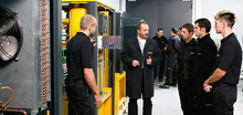 Compressed air seminars and specialist knowledge.